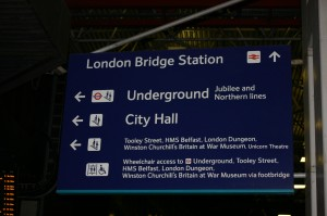 london bridge rail station