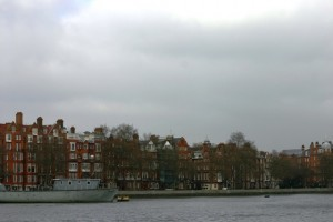 chelsea from battersea over the Thems